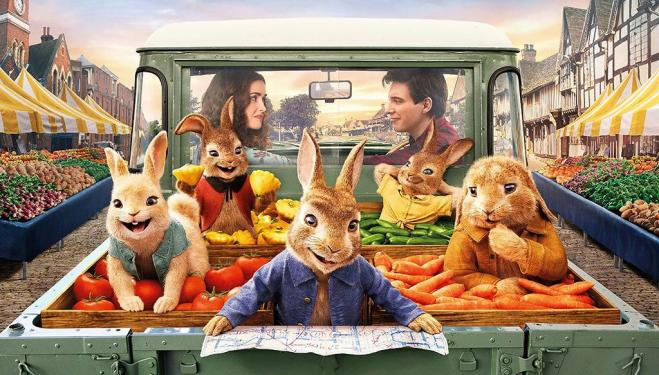Peter Rabbit is back with a second film next Easter