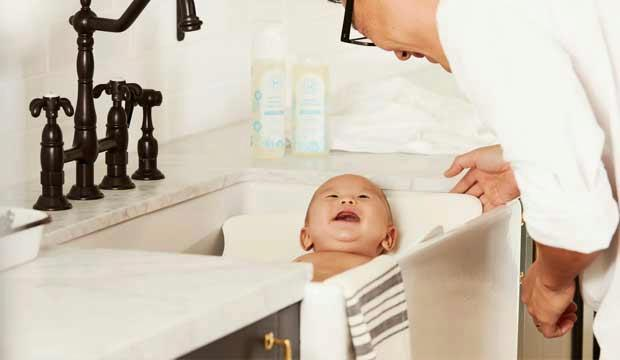 Keen to be a more sustainable parent? Read on... Photo: The Honest Company