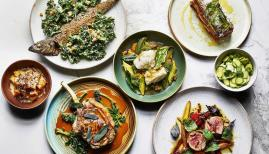 A seductive selection of main dishes at Norma
