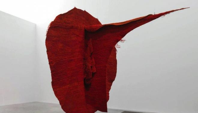Magdalena Abakanowicz Abakan Red 1969 Tate Presented anonymously 2009 © Magdalena Abakanowicz Foundation