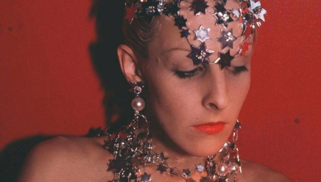 Nan Goldin, Greer Modelling Jewellery, NY, 1985