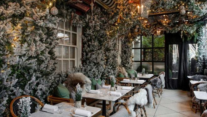 The prettiest festive spots in London