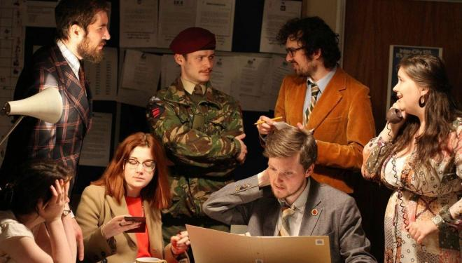 Immersive theatre show lets you play a politician