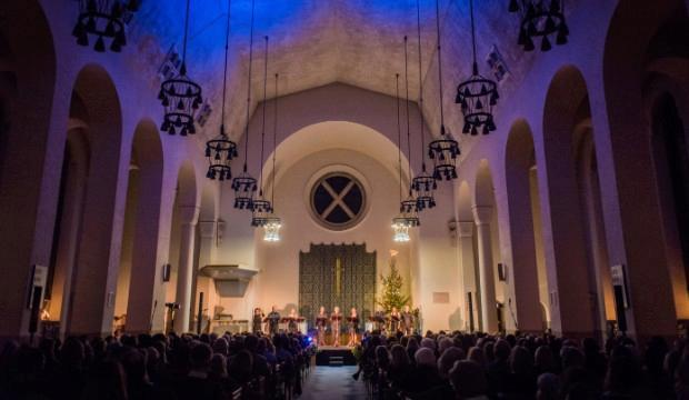 Opera Holland Park sings joyful and inspiring music for Christmas at St Columba's