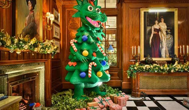LEGO's Christmas tree is the must-see festive display if you have kids