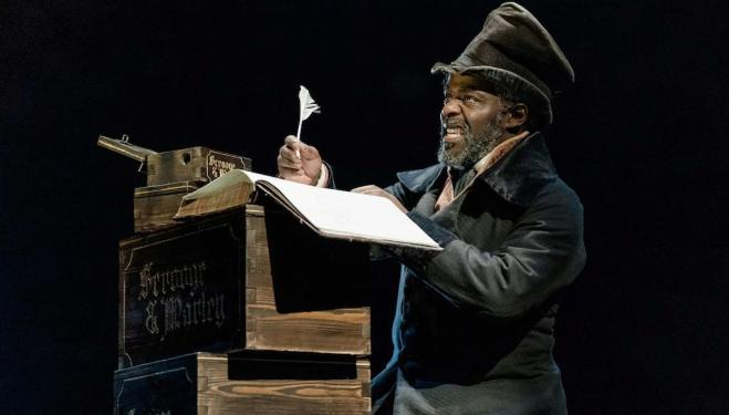 Review: Old Vic's gothic A Christmas Carol
