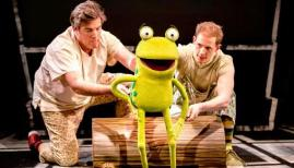 Oi Frog and Friends in the West End. Photo: Pamela Raith