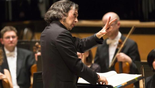Vladimir Jurowski conducts Janacek's opera Jenufa. Photo: Simon Jay