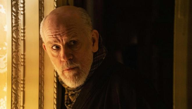 John Malkovich turns posh in The New Pope