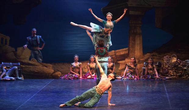 ENB's Le Corsaire dazzles at the Coliseum
