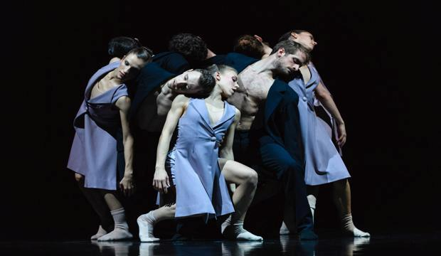 Scottish Ballet in Sophie Laplane's Sibilo, photo Jane Hobson