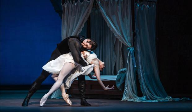 The Royal Ballet, Onegin, Natalia Osipova and Reece Clarke (c) ROH 2020 Tristram Kenton