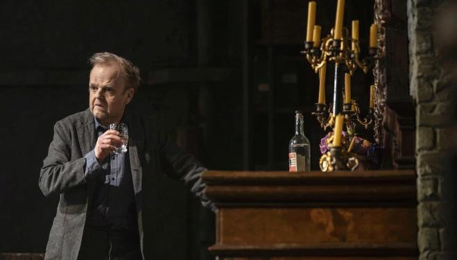 Toby Jones as Uncle Vanya (credit: Johan Persson)
