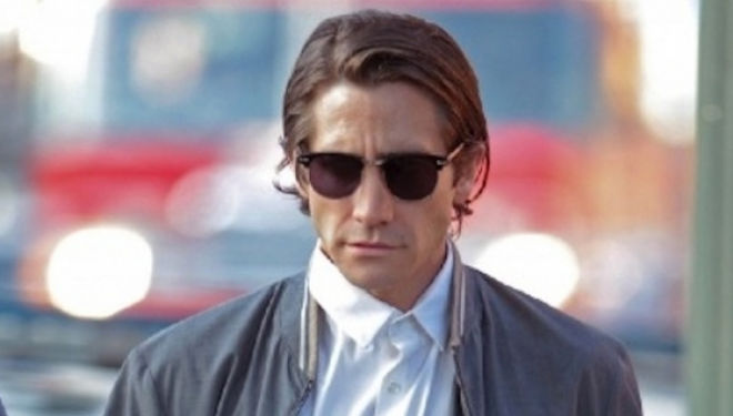 Jake Gyllenhall as Louis, Nightcrawler's semi-psychotic crime journalist