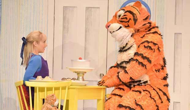 The Tiger Who Came To Tea is back this summer. Photo: Robert Day