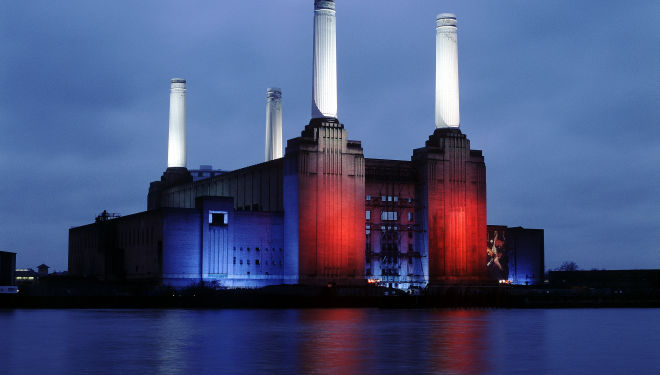 Battersea Power Station, courtesy of Royal Academy of Arts London
