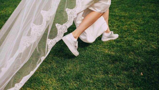 The perfect pairing: fashionable wedding shoes