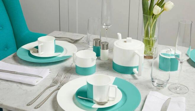 The Tiffany Blue Box Café at Harrods: The best fashion pop-ups London
