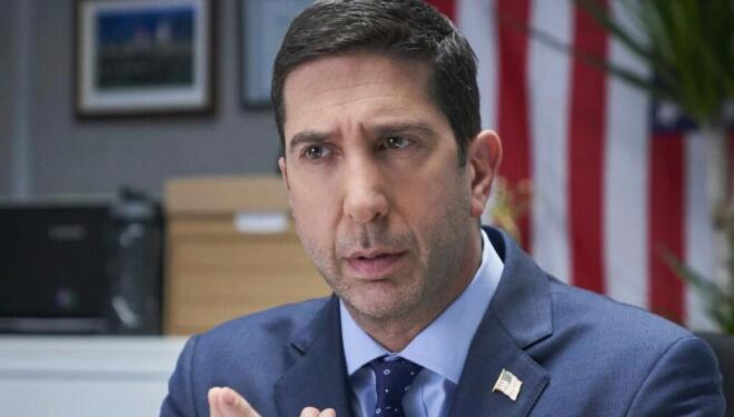 David Schwimmer in Intelligence, Sky One