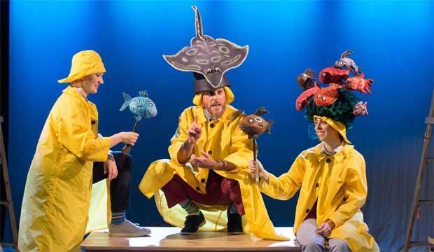 Go see a fab show like Tiddler & Other Terrific Tales at the Southbank Centre. Photo: Robin Savage