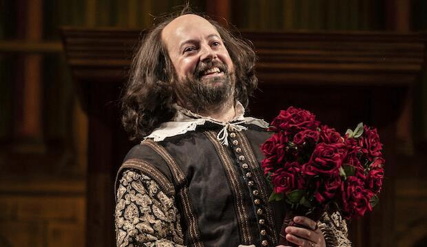 David Mitchell in Upstart Crow, Gielgud Theatre. Photo by Johan Persson
