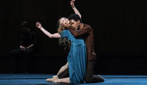 The Royal Ballet, The Cellist, Lauren Cuthbertson, Marcelino Sambé, (c) ROH 2020 Bill Cooper