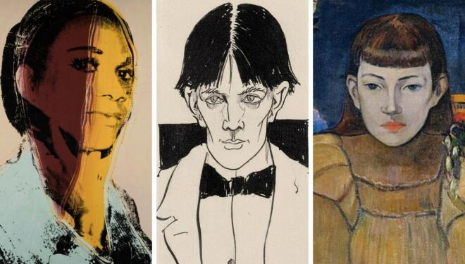 Andy Warhol, Tate Modern, Aubrey Beardsley, Tate Britain, Gauguin, National Portrait Gallery