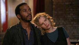 André Holland and Joanna Kulig in The Eddy, Netflix