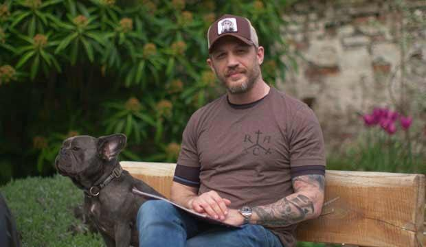 Tom Hardy is doing storytime sessions with CBeebies in April. Photo: CBeebies