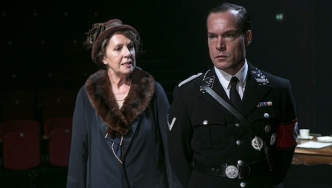Penelope Wilton and John Light in Taken at Midnight