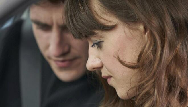 Paul Mescal and Daisy Edgar Jones in Normal People, BBC Three