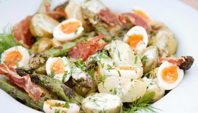 Embrace asparagus season with this Daylesford recipe