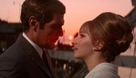 Omar Sharif and Barbra Streisand in Funny Girl (1968)