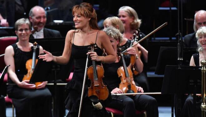 Nicola Benedetti is one of the many world-class artists playing on the classical jukebox Concert Roulette. Photo: Chris Christodoulou