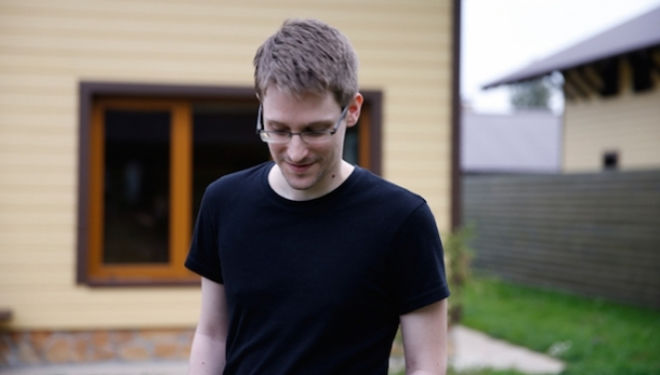 Edward Snowden, alias 'citizen four'