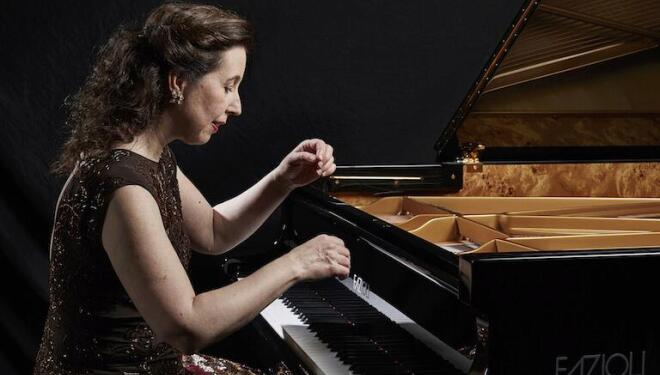 Angela Hewitt is among pianists giving live recitals from Wigmore Hall. Photo: Keith Saunders