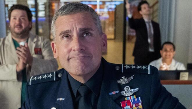 Steve Carell in Space Force, Netflix