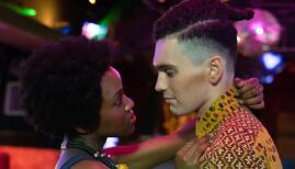 Jack Rowan and Masali Baduza in Noughts and Crosses, BBC