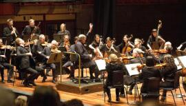 The Orchestra of the Age of Enlightenment plays live at its home base, Kings Place. Photo: Belinda Lawley