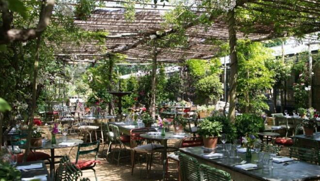 Best places to eat outside in London
