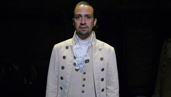 Lin-Manuel Miranda in Hamilton, Disney Plus