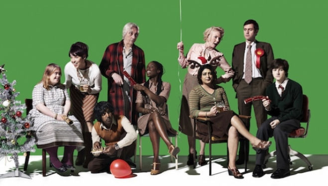 The full cast of 'Hope', courtesy of the Royal Court