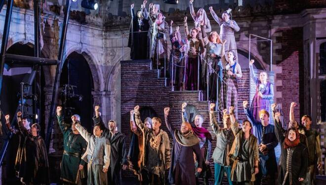 Three cheers for Opera Holland Park, here in Isabeau, going live again on 25 July. Photo: Robert Workman