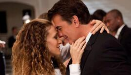 Sarah Jessica Parker and Chris Noth in Sex and the City 2