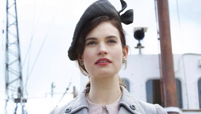 Lily James stars in new Nancy Mitford adaptation
