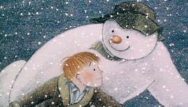 The Snowman is screened with live orchestral music on 21 Dec at Cadogan Hall. Artwork: Snowman Enterprises Ltd