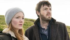 Holliday Grainger and Tom Burke in Strike - Lethal White, BBC One