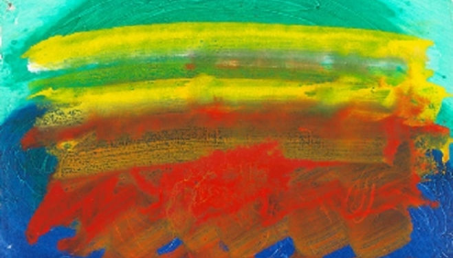 HOWARD HODGKIN, Party, 1990–91, Howard Hodgkin: Indian Waves, Gagosian Gallery London