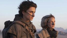 Timothée Chalamet and Rebecca Ferguson in Dune (2020). Photo: Warner Bros.