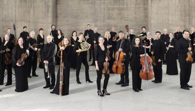 The Academy of St Martin in the Fields plays to a live audience this autumn. Photo: Benjamin Ealovega